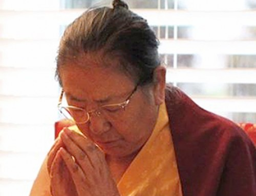 September 24, 2016: Medicine Buddha & Vajrasattva Initiations with Jetsun Kushok
