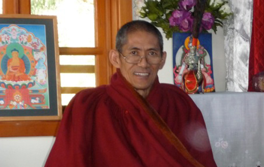 "November 4, 2016: Ven. Khenpo Pema Wangdak Public Talk: ""The Nature & Benefits of Enthusiasm"""