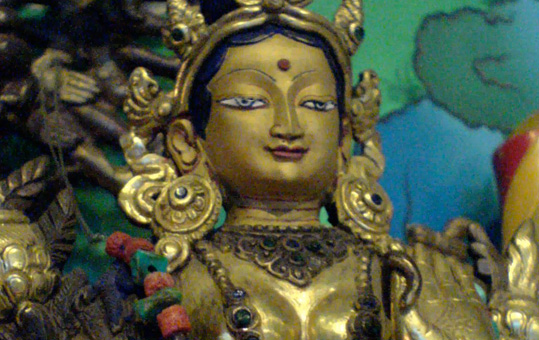 September 25, 2016: Jetsun Kushok will lead the Sunday Green Tara Puja