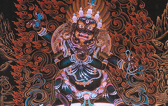 October 2017: Update on Vajrapani Bhutadamara Empowerment & Retreat